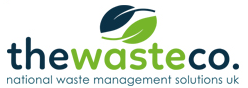 a graphic image of The Waste Co logo
